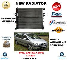 FOR OPEL ZAFIRA A F75 1.8 16V 1999-2005 ENGINE COOLING RADIATOR ** OE QUALITY **