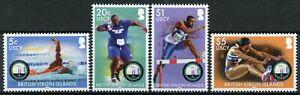 BVI 2021 MNH Olympics Stamps Tokyo 2020 Games Swimming Athletics Sports 4v Set