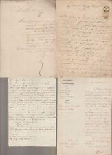 Lotto manoscritti documenti -periodo 1800 in prevalenza Lodi