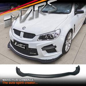 Matt Black Front Bumper Bar Lip Spoiler for HSV GEN-F GTS & Maloo GTS BodyKit VF