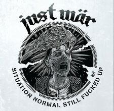 JUST WÄR - SITUATION NORMAL STILL FUCKED UP LP, czech motörcharged punk,