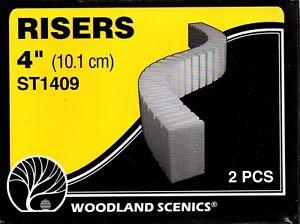 "Woodland Scenics ST1409 Sub Terrain System 4"" inch Foam Risers"