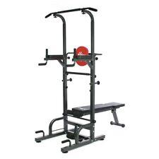 Maquina multiestacion musculacion con banco entrenamiento fitness 1010A