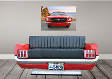 65 MUSTANG SOFA /COUCH -Car Furniture- Man Cave, Home, Office, Body Shop, Retail