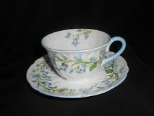 Shelley Harebell Tea Coffee Cup Oleander Shape #13590