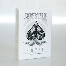 Bicycle Ellusionist White Ghost Magic US Playing Cards Magic Poker NEW SEALED