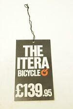 ITERA Plastica Bici £ 139.95 Prezzo Etichetta Moto da collezione memorbilia Eroica NOS