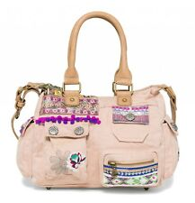 Desigual Bols London Mini Military Luxe Tasche Handtasche Umhängetasche Rosa