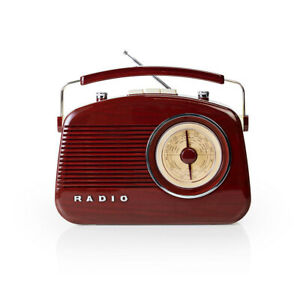 Radio AM/FM design rétro
