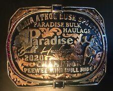Trophy Rodeo Champion Belt Buckle Mini Bull Rider Riding