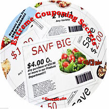 How to Extreme Coupon 3 Books CD Save Money Food Clothes Drugs Restaurants Gas