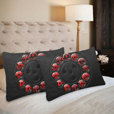 "Uchiha Naruto Pillow Case 20""x 30"" One Side Print (Set of 2 Items)"