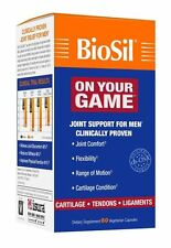 Natural Factors BioSil ON YOUR GAME Men's Joint Cartilage Formula 5 mg - 60 Caps