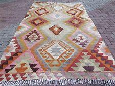 """Antique Turkish Rug,Antalya Barak Kilim,Wool 77,5""""x129,1"""" Arearugs,Carpet,Kelim"""