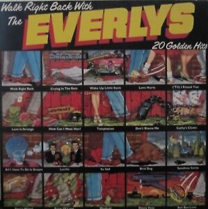 EVERLY BROTHERS  LP  WALK RIGHT BACK WITH THE EVERLYS