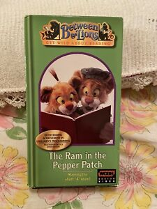 Between the Lions - The Ram in the Pepper Patch (VHS, 2001) Tested - Rare VHS!!