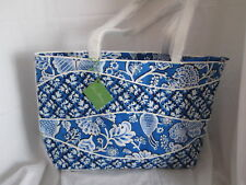 Vera Bradley MAKING WAVES Tote Purse Handbag in  NEW with Tags BLUE LAGOON