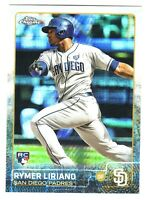 2015 Topps Chrome PRISM REFRACTOR #116 RYMER LIRIANO RC San Diego Padres