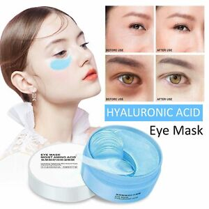 60PCS Dark Circle Gel Collagen Under Eye Patches Pad Mask Anti-Wrinkle