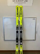 2020 Head ISpeed Pro 180cm demo skis with bindings