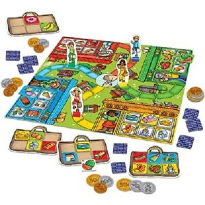 POP TO THE SHOPS INTERNATIONAL Orchard Toys childrens board game cents money NEW