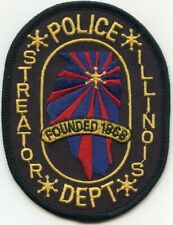 MAHOMET ILLINOIS IL Covered Bridge POLICE PATCH