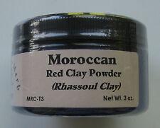 Moroccan Red Clay Powder (Rhassoul) 3 oz. tub 100% Pure - The Elder Herb Shoppe