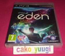 CHILD OF EDEN SONY PS3 NEUF SOUS BLISTER VERSION 100% FRANCAIS