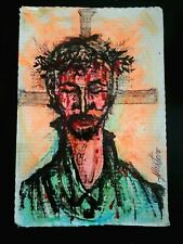 Jesus Christ Christianity Original Art (Juliano, Alberto 1925-2008) NYC Artist
