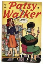 Patsy Walker #4 1946 Rare TIMELY Golden-Age Romance Humor comic