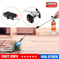 Portable Propane Torch Weed Burner Fire Starter Ice Melter Wand Igniter Roofing