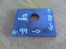99x80x10 with 25mm Hole  Mild Steel Plate 10mm