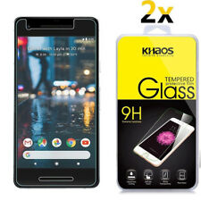 2-Pack Khaos For Google Pixel 2 Tempered Glass Screen Protector
