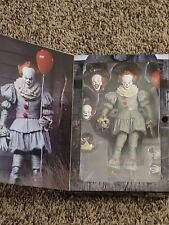 """New 7"""" NECA IT Ultimate Pennywise Clown Action Figure Movie Doll 2017 Scale"""