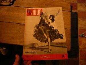 Magazin Wochenkalender Mitternacht- Und Jour Nr. 116 1947 Maria Aranda