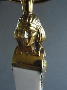 Bruckmann Leuchter / Kerzenständer 925 Silber, vergoldet, Bein, 25,5 cm MUSEAL!
