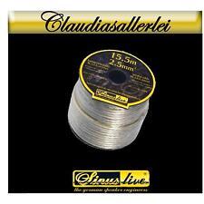 Lautsprecher Kabel auf Rolle 15,5 Meter  2x2,5m²