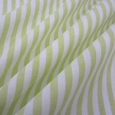 Stoff Meterware Baumwollstoff Baumwolle Streifen gestreift hellgrün grün anis 1