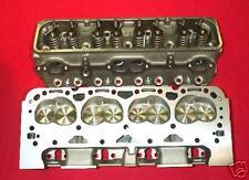 New Pair sb sbc Chevy Chevrolet 67cc Dart SS Cylinder Heads 2.02 1.60 Valves