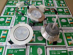 24V LED ceiling light 3W DC spotlight 24V 36V low voltage downlight