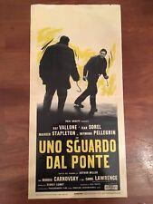 locandina,S10 UNO SGUARDO DAL PONTE,Vu du pont,1962,Sidney Lumet, Vallone,Sorel