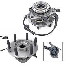 2 Premium Front Left Right Wheel Hub Bearing Assembly Pair for Envoy Trailblazer