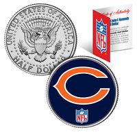 CHICAGO BEARS  NFL JFK Kennedy Half Dollar US Coin  *Officially Licensed*