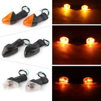 Front Turn Signal Indicator Light For KAWASAKI ZX-6R 10R Z750 1000 KLE500/650 GZ