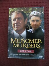 MIDSOMER MURDERS - THE COMPLETE SET FOUR - VERY GOOD