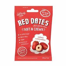 Abakus rouge dates (Jujube) dénoyautés 30 g Pack de 12