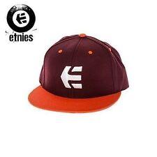 Etnies Marana Snapback Baseball Cap Hat OS Maron NWT NEW $36 35€ Skate Surf Snow