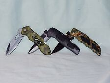 3 POCKET KNIFES DELTA11, DELTA111, S.A.R. Tactical search & rescue