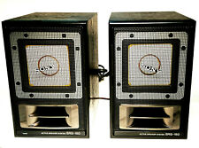SONY SRS-150 AMPLIFIED ACTIVE SPEAKERS SYSTEM VINTAGE