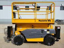 New Listing2015 Haulotte 3368rt Diesel 1000 Lb Scissor Low Hours Man Lift Jlg Genie Dealer